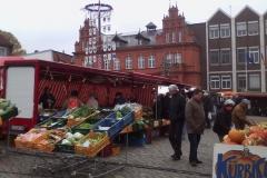 …den Wochenmarkt geniessen...