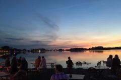 ...Abendstimmung am Binnensee...